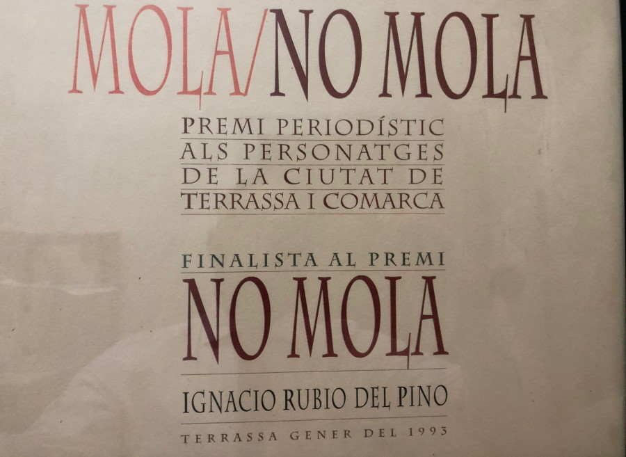 Mola no Mola Premio 1993. Ignacio Rubio finalista
